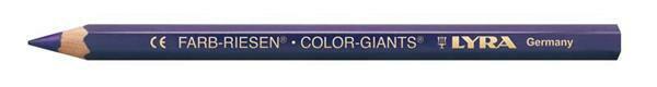 LYRA Farb-Riese® kleurpotlood - gelakt, violet