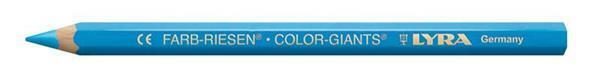 Lyra® crayon de couleur géant - vernis, bleu ciel