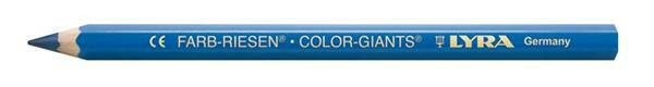 LYRA Farb-Riese® kleurpotlood - gelakt, donkerblau