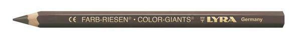 Lyra® crayon de couleur géant - vernis, brun