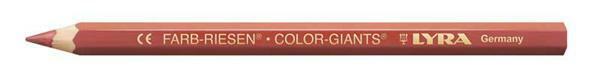Lyra® crayon de couleur géant - vernis, brun rouge