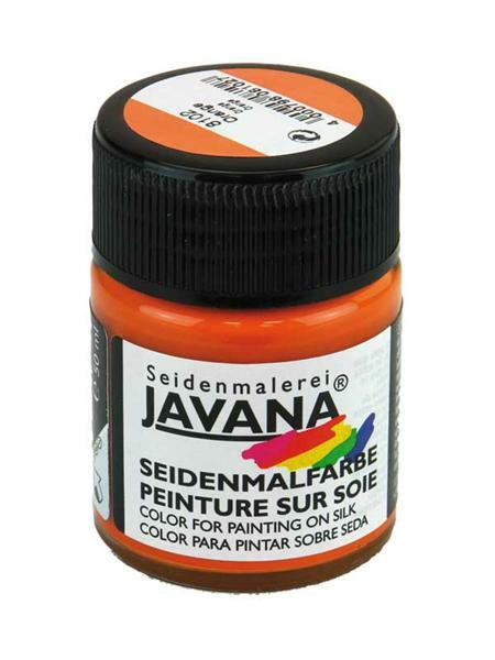 Seidenmalfarbe - 50 ml, mandarine