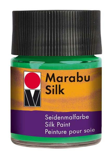 Seidenmalfarbe - 50 ml, hellgrün