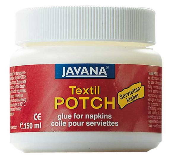 Colle serviette - 150 ml, textiles (POTCH)