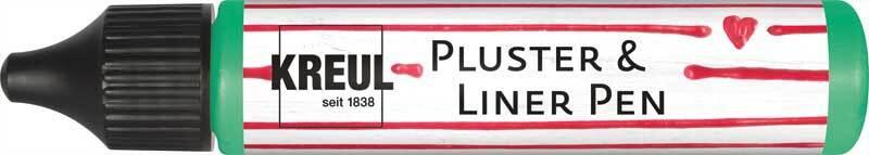 Pluster & Liner Pen - 29 ml, meigroen