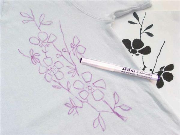 Javana crayon sublimat, auto-effaçable