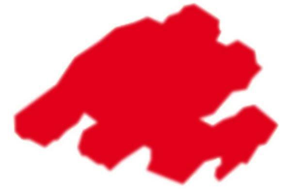 Stoffmalstift Texi Mäx - 2 - 4 mm, rot