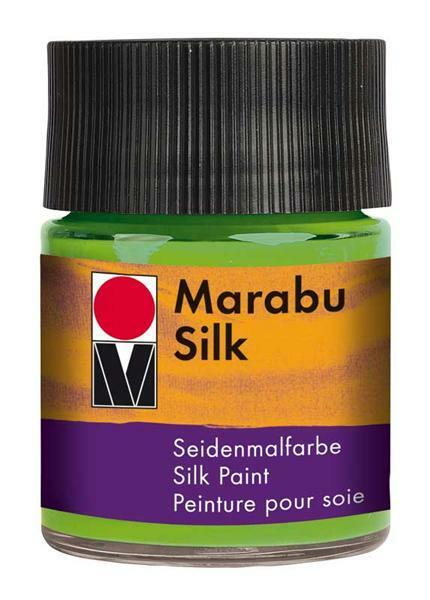Seidenmalfarbe - 50 ml, blattgrün
