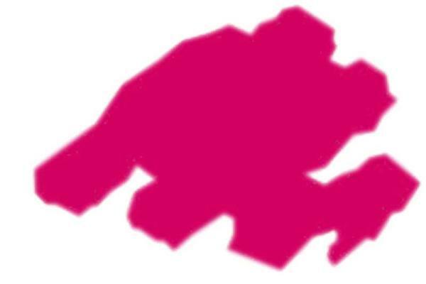 Stoffmalstift Texi Mäx - 2 - 4 mm, pink