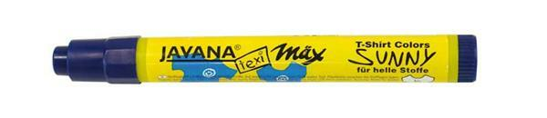Textielmarker - medium, 2 - 4 mm, blauw