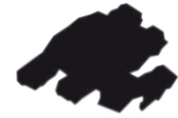 T-shirtmarker Texi Mäx 2 - 4 mm, zwart