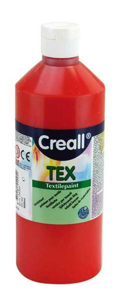 Creall Tex - 500 ml, rood