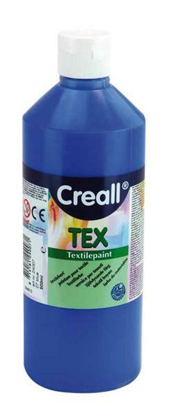 Creall Tex - 500 ml, blau