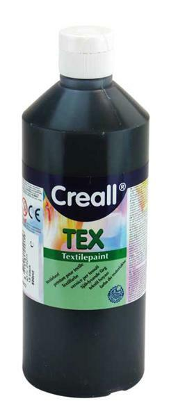 Creall Tex - 500 ml, zwart
