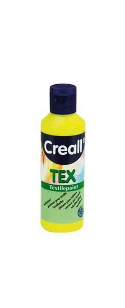 Creall Tex - 80 ml, jaune