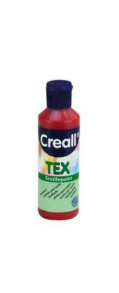 Creall Tex - 80 ml, kersenrood