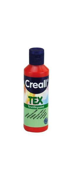 Creall Tex - 80 ml, rood