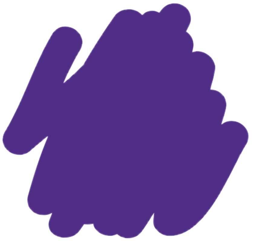 Marqueur textile - médium 2-4 mm, violet