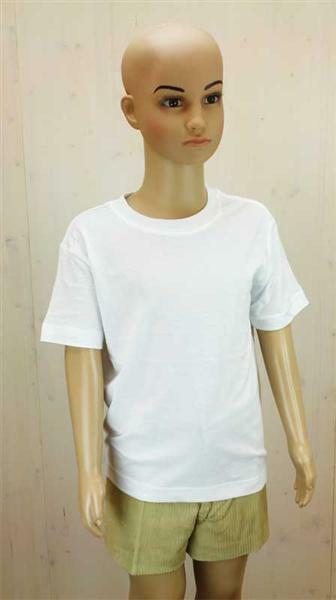 T-Shirt kind - wit, XL