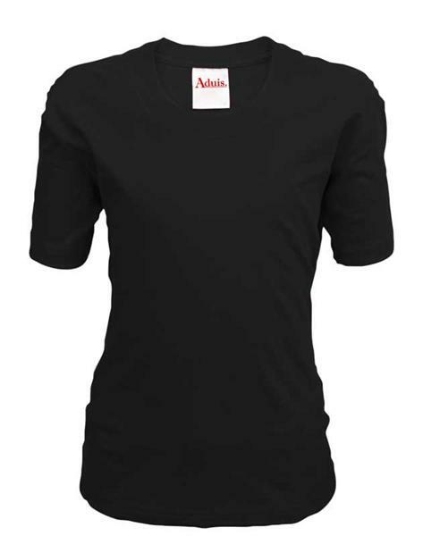 T-Shirt kind - zwart, L