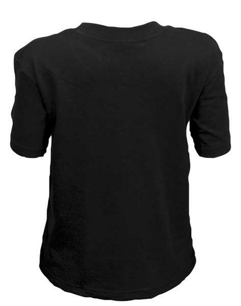 T-Shirt kind - zwart, XL