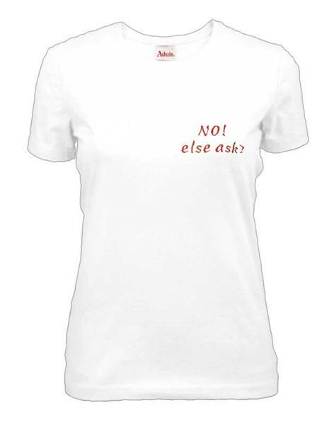 T-Shirt Damen - weiß, S
