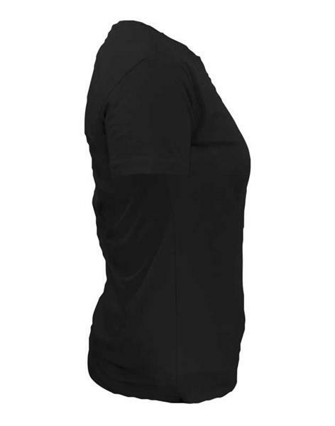 T-Shirt Damen - schwarz, S