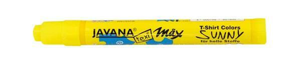 Textielmarker - medium, 2 - 4 mm, neon geel
