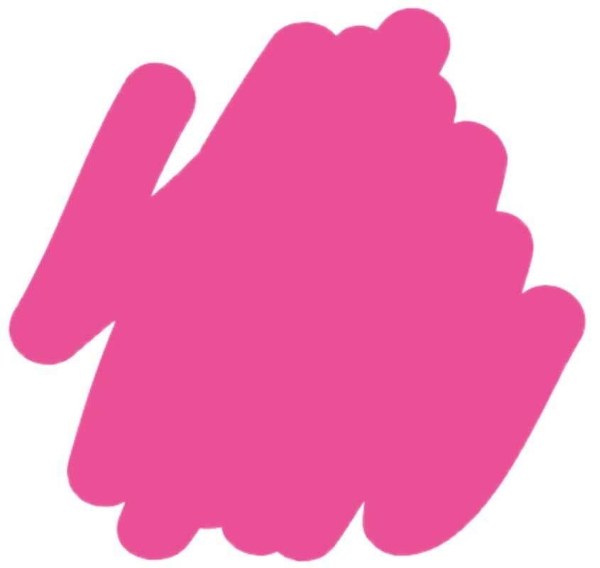 Marqueur textile - médium 2-4 mm, pink néon