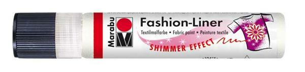 Marabu Fashion-Liner - 25 ml, parelmoer