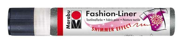 Marabu Fashion-Liner - 25 ml, zwart