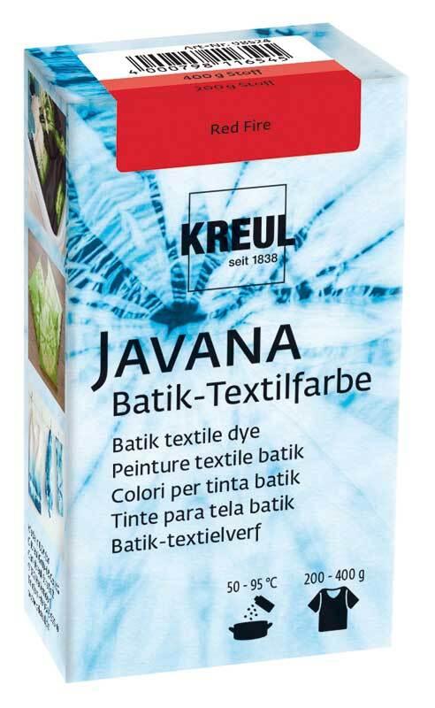 Javana Batik textielverf, Red Fire