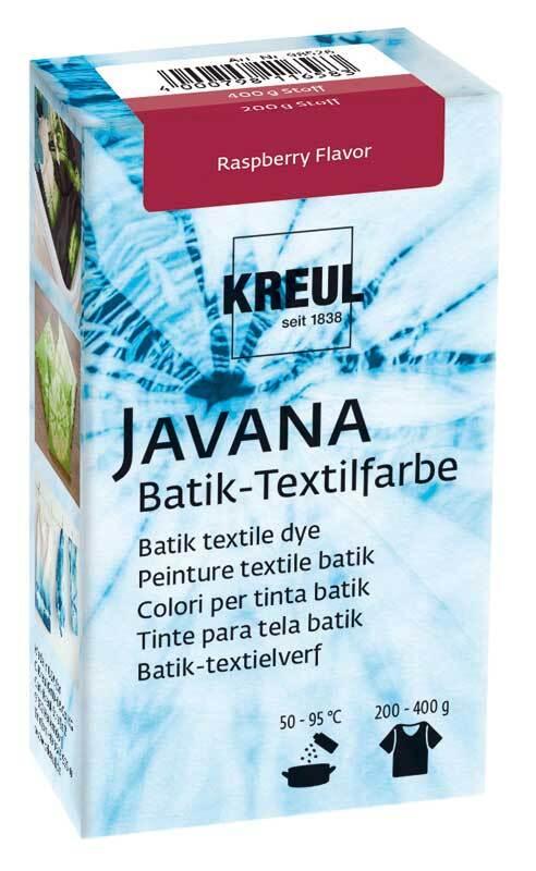 Javana Batik textielverf, Raspberry Flavor