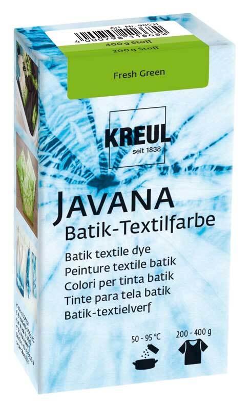 Batik-Textilfarbe, fresh green