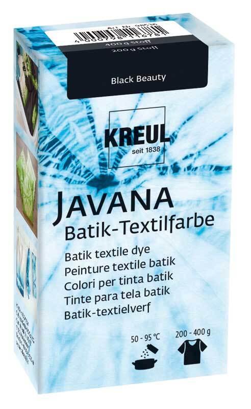 Batik-Textilfarbe, black beauty