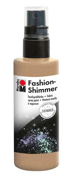 Marabu Fashion-Shimmer-Spray - 100 ml, goud