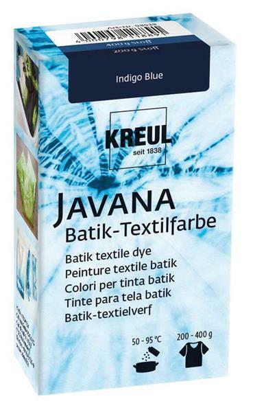 Javana Batik Textilfarbe, Indigo Blue