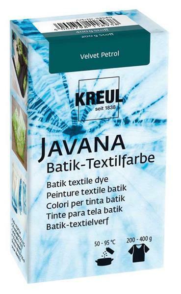 Javana Batik Textilfarbe, Velvet Petrol
