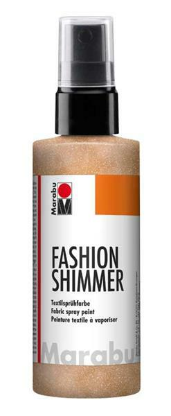 Marabu Fashion-Shimmer-Spray - 100 ml, apricot