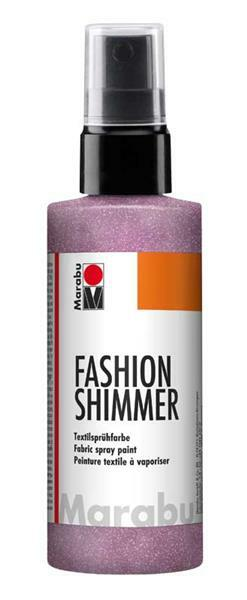 Marabu Fashion-Shimmer-Spray - 100 ml, rosa
