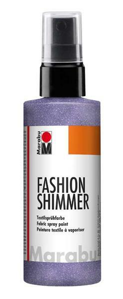 Marabu Fashion-Shimmer-Spray - 100 ml, lilas