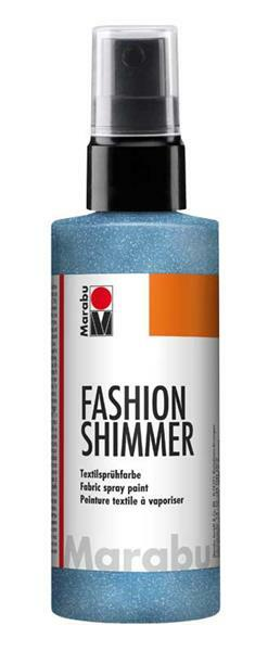 Marabu Fashion-Shimmer-Spray - 100 ml, hemelsblauw