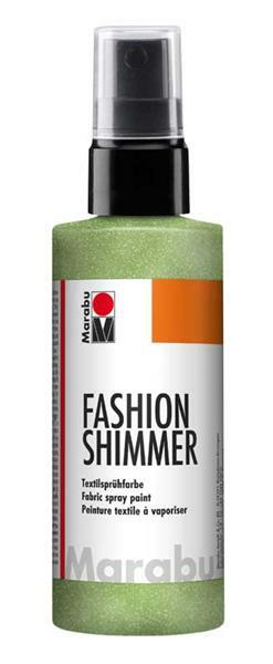 Marabu Fashion-Shimmer-Spray - 100 ml, reseda