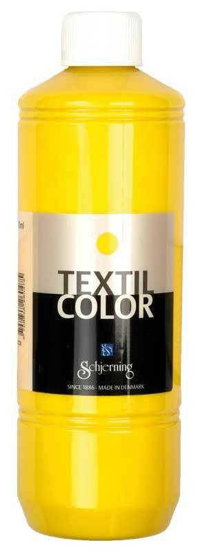 Textielverf Textil Color - 500 ml, primair geel