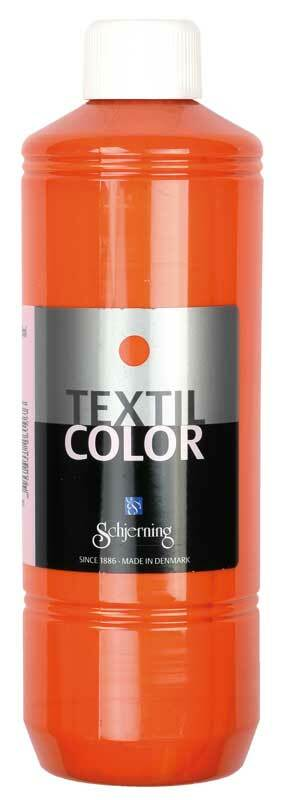 Stoffmalfarbe Textil Color - 500 ml, orange