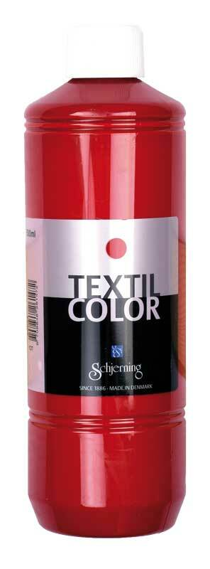 Stoffmalfarbe Textil Color - 500 ml, rot