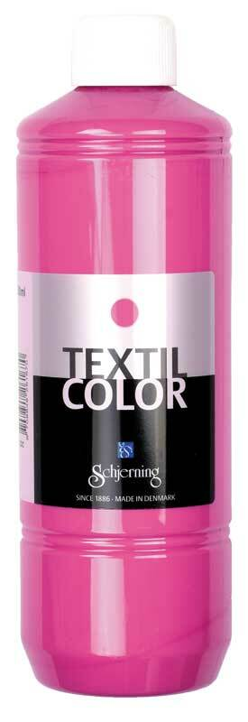 Textielverf Textil Color - 500 ml, zuurstokroze