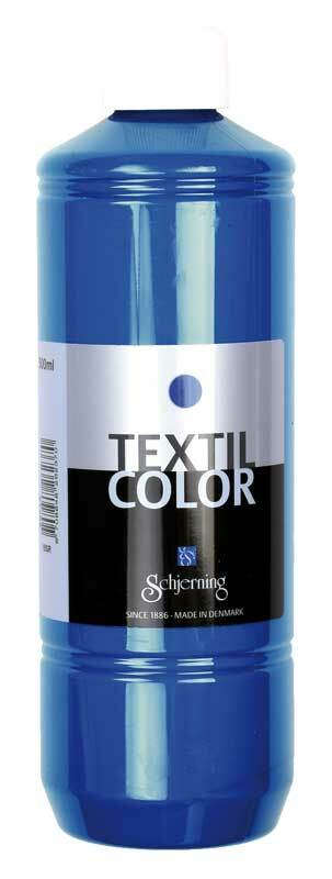Stoffmalfarbe Textil Color - 500 ml, primärblau