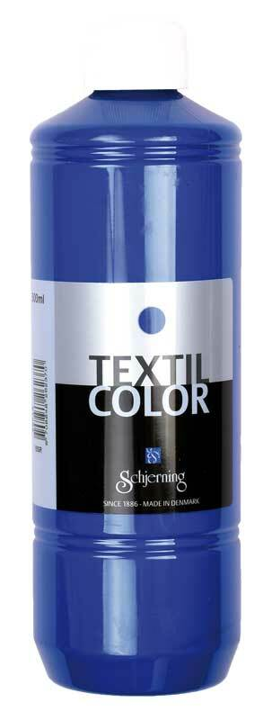 Stoffmalfarbe Textil Color - 500 ml, navy