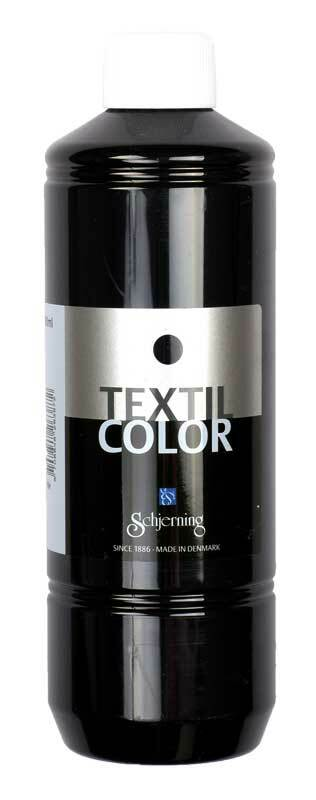 Stoffmalfarbe Textil Color - 500 ml, schwarz